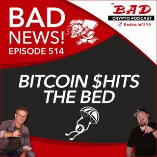 Bitcoin $hits the Bed - Bad News For May 19th