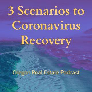 3 Scenarios to Coronavirus Recovery