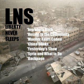 Liberty Never Sleeps 04/10/18 Show