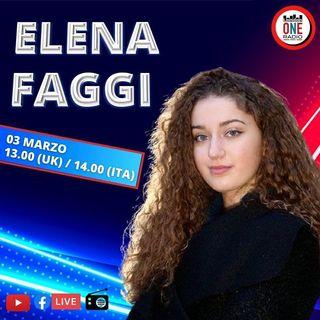 Sanremo 2021: Elena Faggi