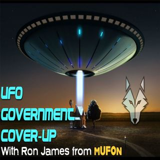 UFO Conspiracy Podcast with Ron James mUFOn