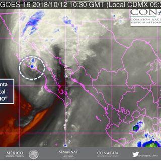 Alerta en 3 estados por Sergio y llueve en CDMX