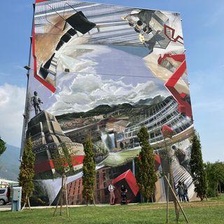 Al Faber Box un mega murale racconta la storia della città