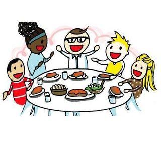 #srn Sei sei felice e tu lo sai è perché mangi con i tuoi!!