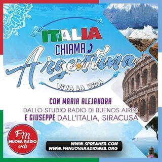 Italia chiama Argentina, Viva la Vida. Conducono Giuseppe e Maria Alejandra