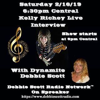 Kelly Richey Interview By Dynamite Debbie Scott !  2-16-19