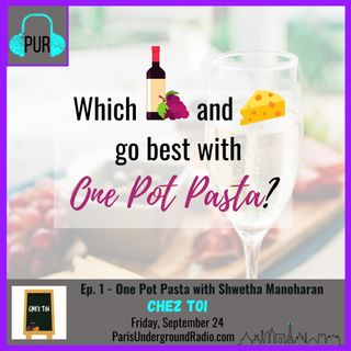 One Pot Pasta with Shwetha Manoharan