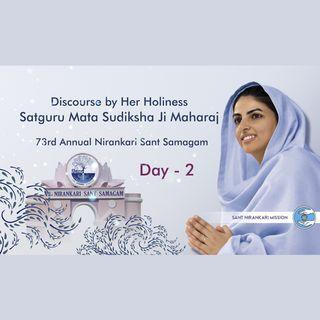 Second day, 73rd Annual Nirankari Sant Samagam (Virtual): December 6, 2020 -Discourse by Satguru Mata Sudiksha Ji