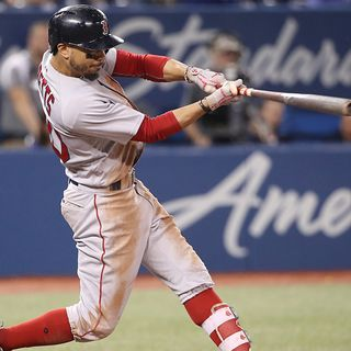 Mookie Betts Hits For Cycle For First Time