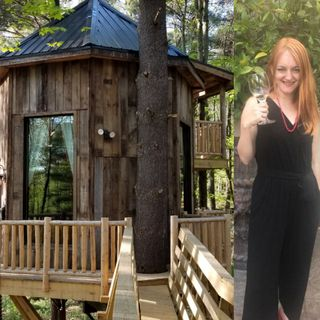 Mary Farah - Ohio's Mohican Treehouse Resort and Wedding Venue