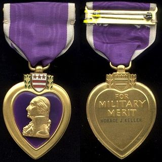 the workplace purple heart