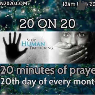 Human2020 prayer warm up for the children and families