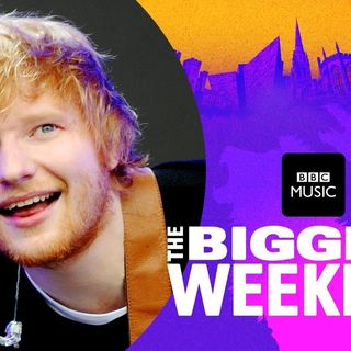 Ed Sheeran live at BBC Radio 1's Big Weekend