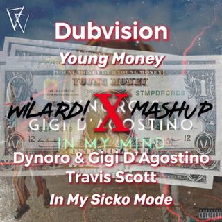 Dubvision - Young Money vs. Dynoro & Gigi D'Agostino, Travis Scott - In My Sicko Mode (WILARD! Mashup) [extended]