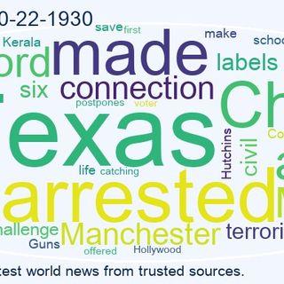 World News 2021-10-22-1930