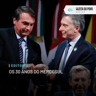 Editorial: Os 30 anos do Mercosul