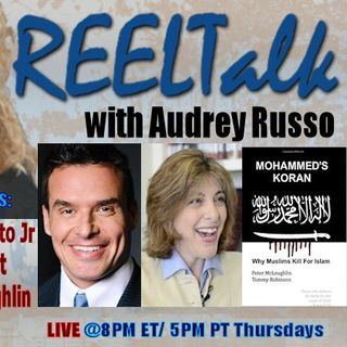 REELTalk: Actor Antonio Sabato Jr, Author Diana West and Author Peter McLoughlin direct from the UK