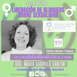#005 Liberación de bloqueos sobre sexualidad, Dra. María Gabriela Santini