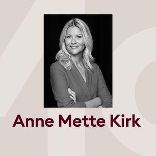 Anne Mette Kirk i samtale med Marie Louise Toksvig