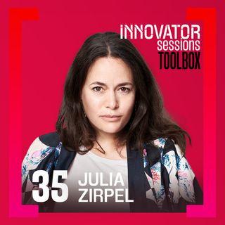 Toolbox: Julia Zirpel verrät ihre wichtigsten Werkzeuge und Inspirationsquellen