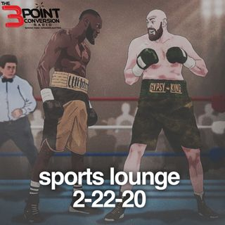 The 3 Point Conversion Sports Lounge- Deontay Wilder Talks To The 3 Point Conversion, XFL To Stay(?) Who's Stoping The Bucks