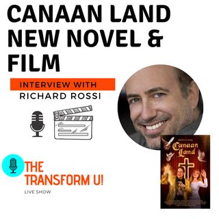 CANAAN LAND new novel and upcoming film with Richard Rossi