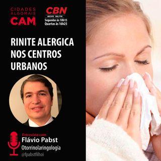 Rinite alergica nos centros urbanos (entrevista com Flávio Pabst)