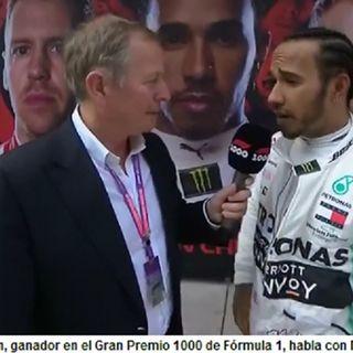 Lewis Hamilton gana Gran Premio 1000 de la Fórmula 1 en China y es nuevo líder