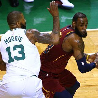 Celtics' Marcus Morris Thrives Defending LeBron James