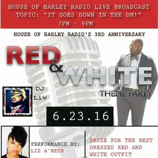 HoH Radio 3rd Anniversary: It Goes Down In The DM