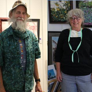 The Arts in Palisade, Colorado - Artists Gary Hauschulz and Susan Metzger on Big Blend Radio