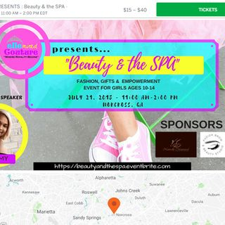 Join Beauty & the SPA - A GirlPower Spa Party at Norcross, GA 30092 on July 21, 2018