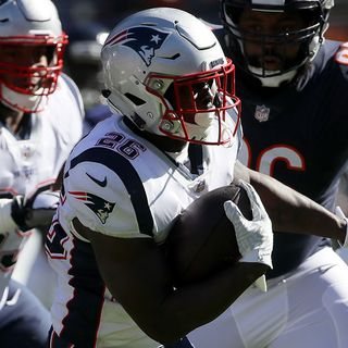 Patriots Rookie Sony Michel In Line To Play Sunday