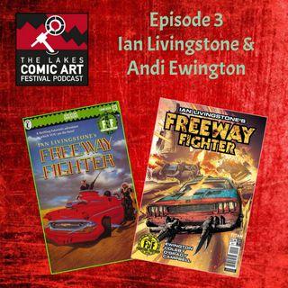 Ian Livingstone and Andi Ewington talk Freeway Fighter