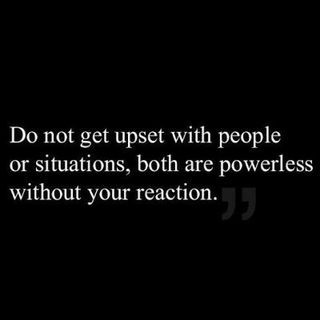 Control The Way You React