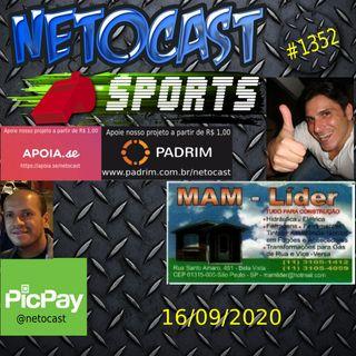 NETOCAST 1352 DE 16/09/2020 - ESPORTES - BELLATOR - UFC - BKFC