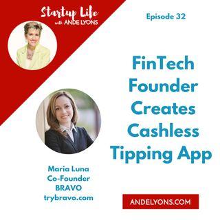 FinTech Founder Creates Cashless Tipping App