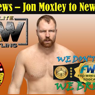 AEW News - Moxley to New Japan