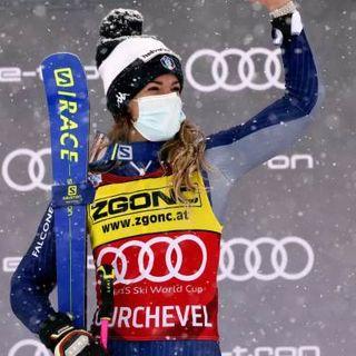 Coppa del mondo di sci: Marta Bassino da urlo nel gigante di Courchevel