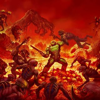 Co DOOM ma wspólnego z Cannibal Corpse? Czyli jak gra może być death metalowa