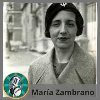 Marcos Martín con María Zambrano