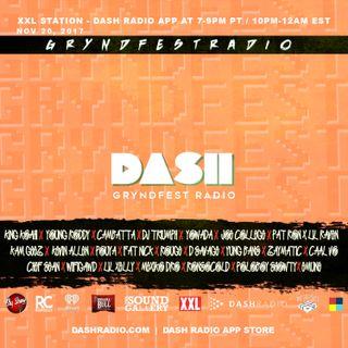 [11/20] @Dash_Radio #XXL : #GryndfestRadio #TakerOver Guest Djs Vol 49th #dinnerland #theearplugs