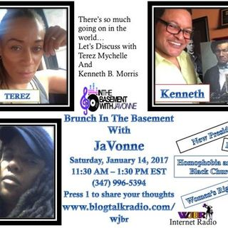 Terez and Kenneth B. Morris in the Basement with JaVonne