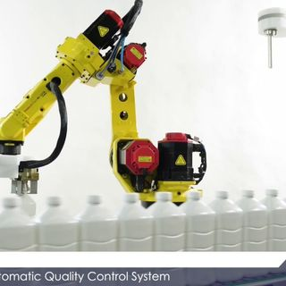 RADIO ANTARES VISION - ROBO-QCS: an innovative in-line automatic system to test the quality of products
