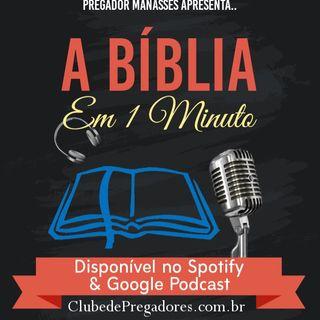 Bíblia em 1Minuto EP33 - Profetas Menores