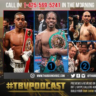 ☎️Errol Spence Jr., The Road 🛣Porter, Pacquiao vs Thurman Winner 🤩Than Crawford😱