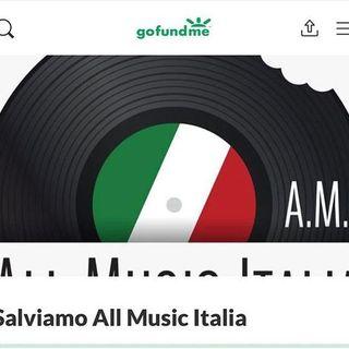 """""""All Music Italia"""" rischia di chiudere: parte online una raccolta fondi per salvarlo"""