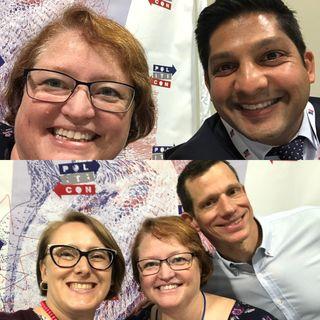 LIVE from Politicon with Kiran Sreepada & James Mackler