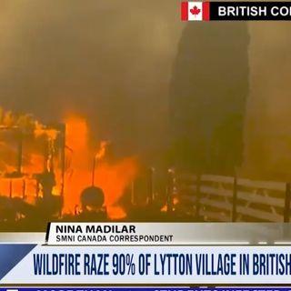 Canada, dopo il caldo record è allarme incendi: 719 i morti nell'ultima settimana