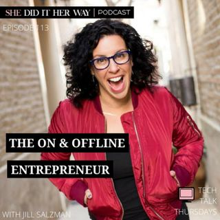 SDH113: The On & Offline Entreprenuer With Jill Salzman